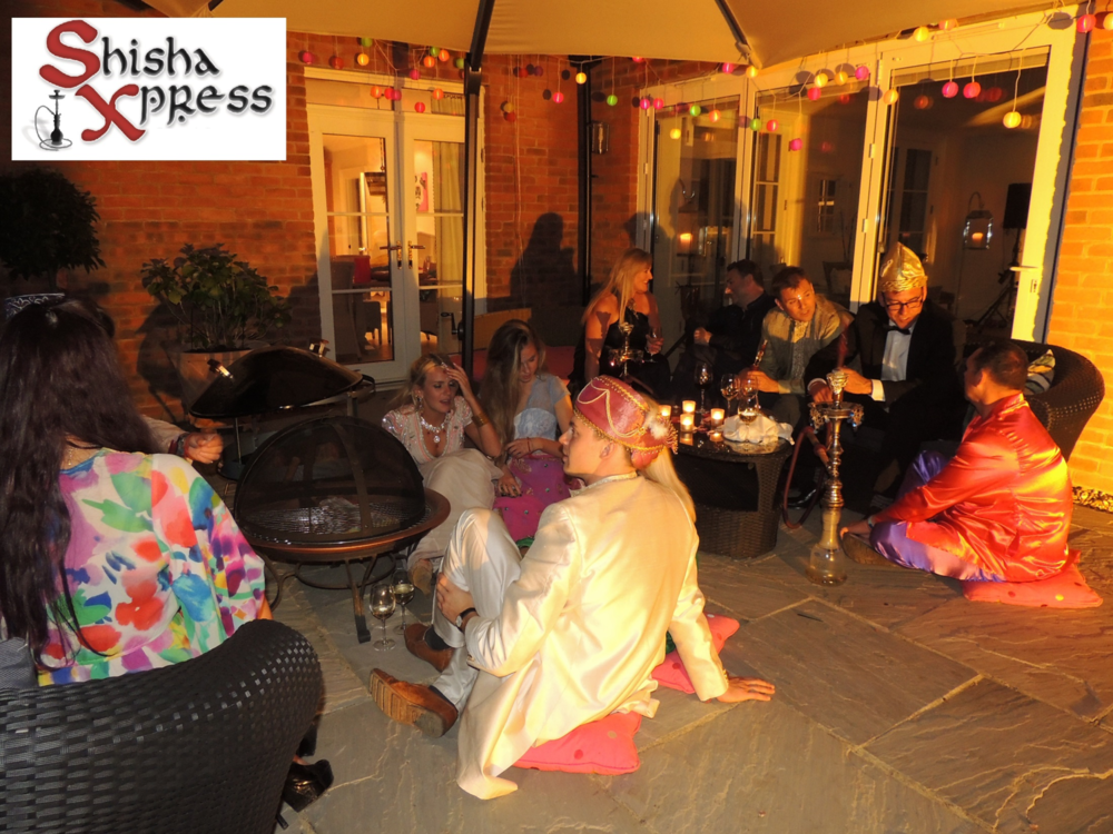 Shisha Hire for Indian Themed Birthday Party in Oxford