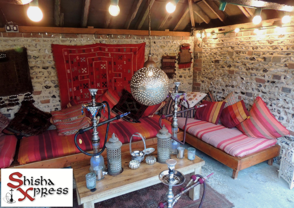 Shisha Hire for Arabian Nights themed wedding in Chichester