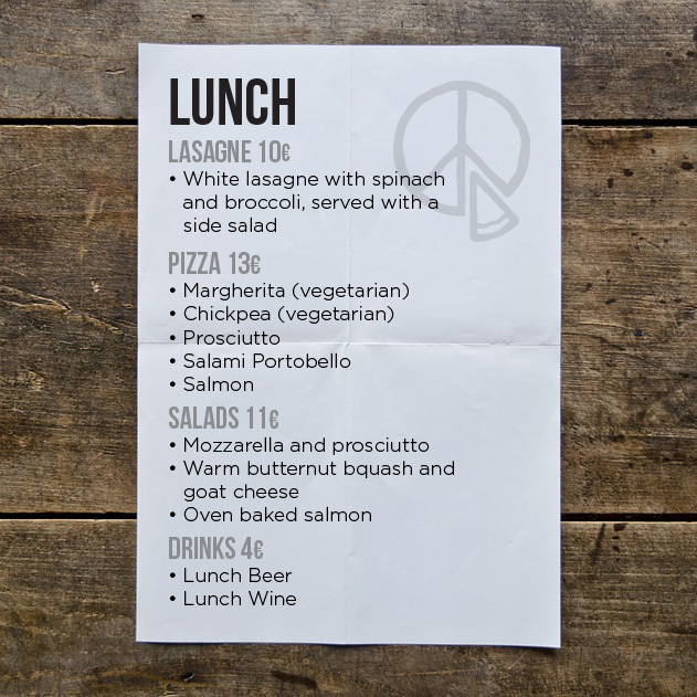 How about lunch?