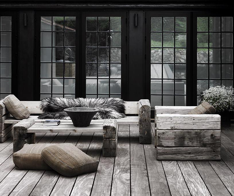 ASPEn COLLECTION - Outdoor Collection for Restoration Hardware