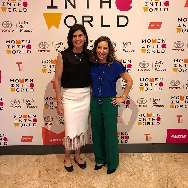 Excited, energized and inspired at #witw