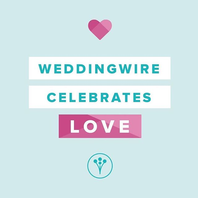 One of the many reasons we love being a @weddingwire professional. #loveislove . . .  #weddingwire #celebratelove #glasshousecatering #annarborcatering #wedding #love