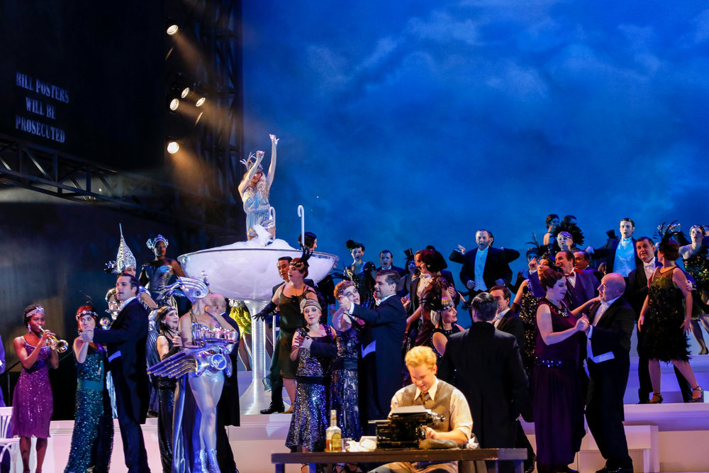 The Great Gatsby opera By Keith Warner Choreography by Michael Barry