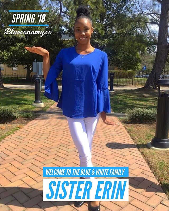 Congratulations to our so sweet Sister Erin on joining the blue & white family SPR '18! 🤘🏽💙🕊 @erinnxnicolee . Tag and comment your FALL '17 / SPR '18 Zeta and Sigma Sandz and Neos so we can congratulate them! . In honor of all brothers and sisters who crossed FALL '17 / SPR '18, we are gifting 2 months free Blueconomy memberships to all neos who recently joined our family. DM us for more details. —- @blueconomy was created to help our blue & white family collaborate in a way we never have before. We help you stay updated on events, find and connect with brothers and sisters around the world, and support economic growth within our community. . We're building an economy that will empower thousands of women and men generations to come. Similar to how those who came before us built something to empower us. . If you believe in our mission, share with members of the blue & white family. 🤘🏽💙🕊
