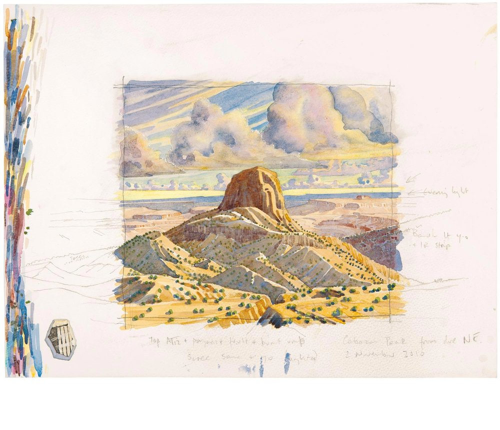 Tony Foster ,  Looking Southwest to Cabezon Peak , 2010