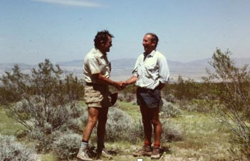 Tony met Professor Winslow Briggs and family on John Muir's High Serra trail in 1986 and he still maintains that friendship today.