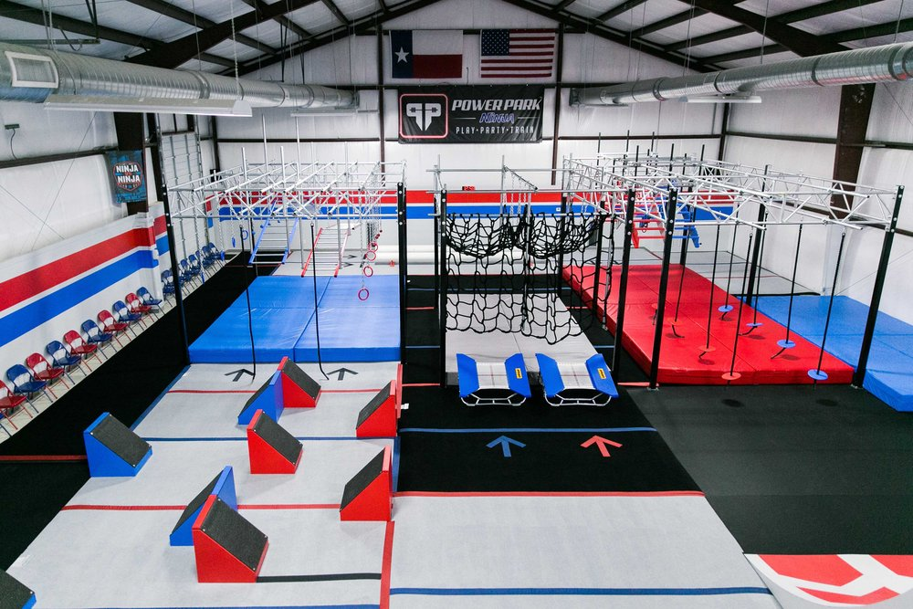 SAN ANTONIO'S PREMIER NINJA GYM FOR KIDS -