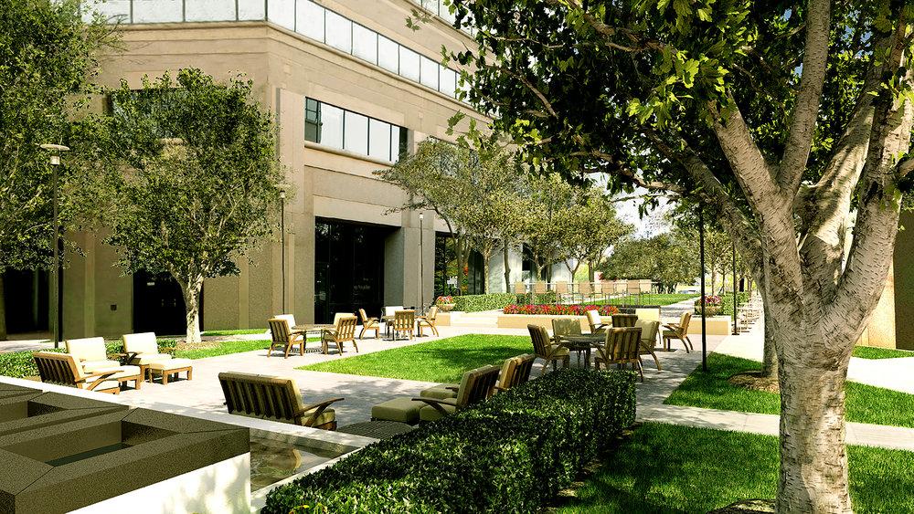 Exterior Landscape Patio