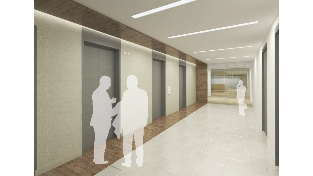 IMD_Renderings_Commercial_The Foundry_Elevator Lobby_Final With People.jpg