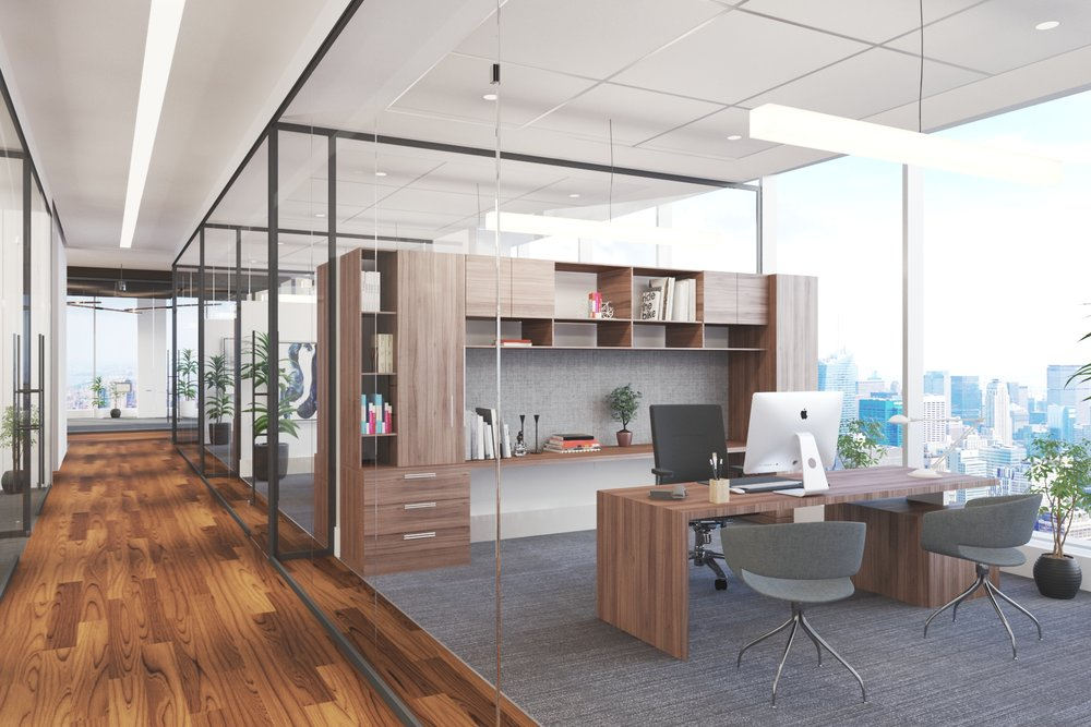 Tenant Office SpaceManhattan West - Presenting three Architectural Design Options for a variety of tenants - while the building is still in construction!