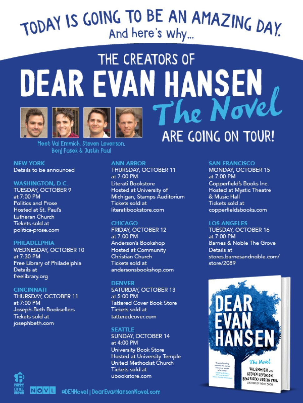 Dear Evan Hansen Tour
