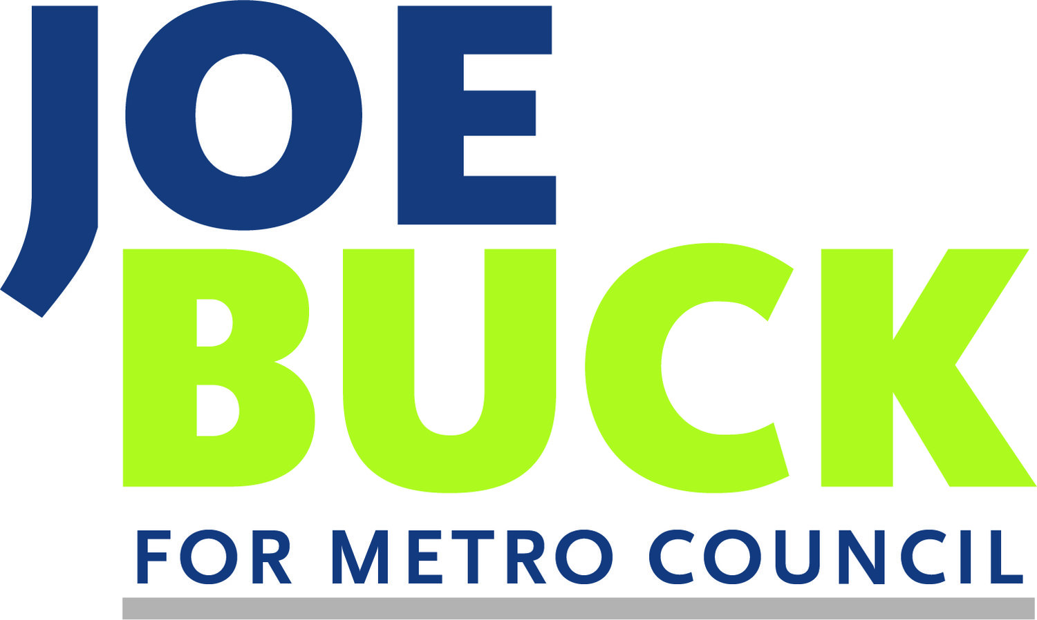 Joe Buck For Metro Council
