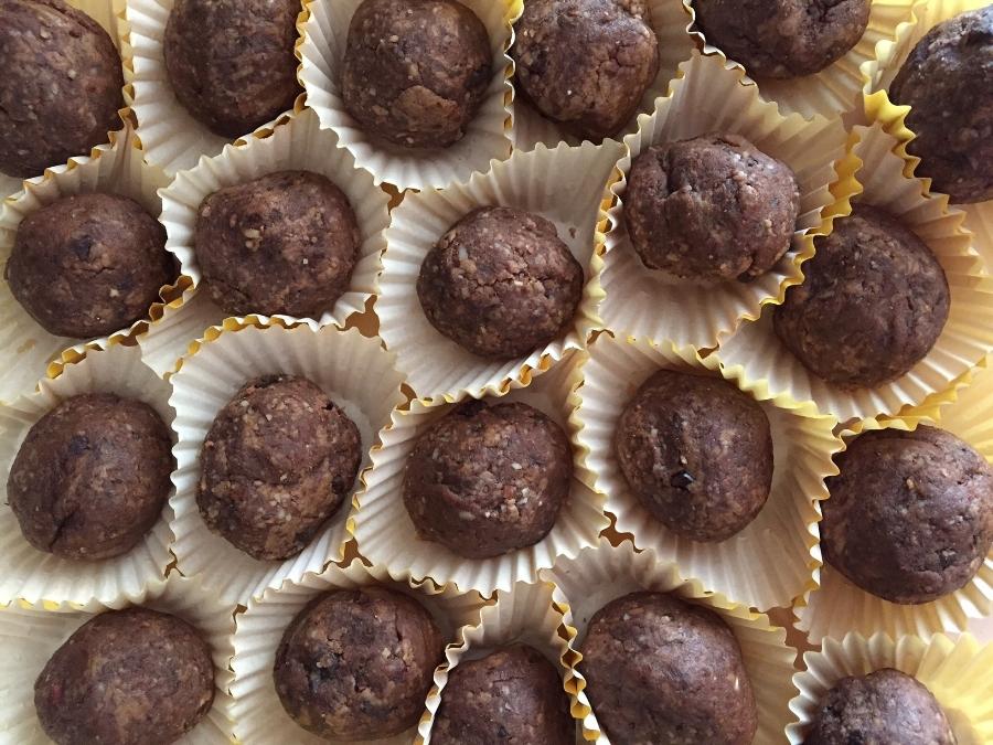 Nutty Mocha Bites - My favorite treat yet!