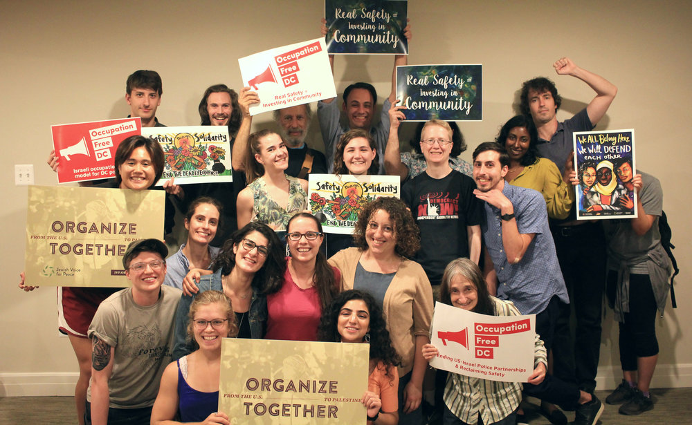 About Us - Jewish Voice for Peace – DC Metro is a grassroots organization inspired by Jewish tradition to work together for peace, social justice, and human rights from the US to Palestine. We are actively engaged in legislative outreach, community education, BDS campaigns, and anti-racist organizing.