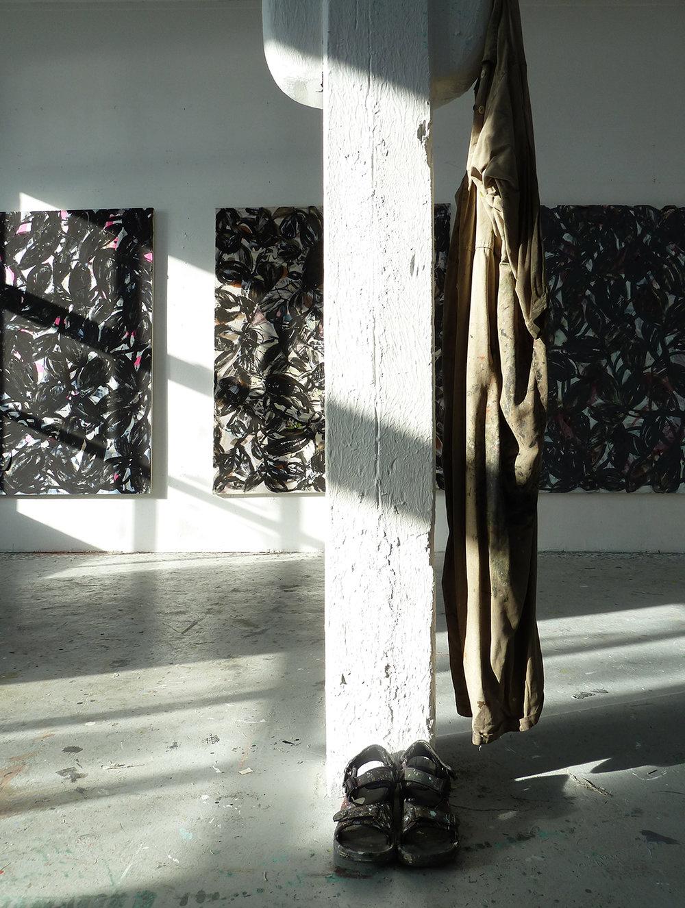 Fra atelieret til Brit Bøhme på USF Verftet