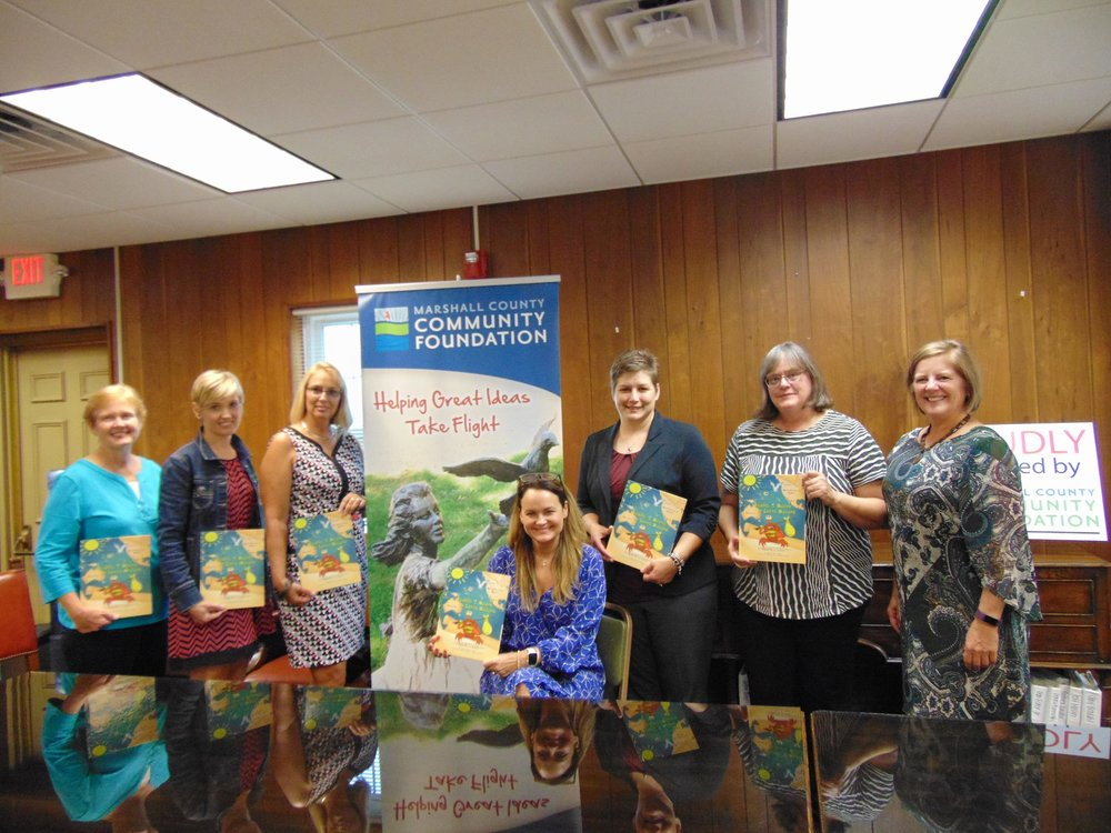 Marshall County Community Foundation Grant Award Picture.jpg