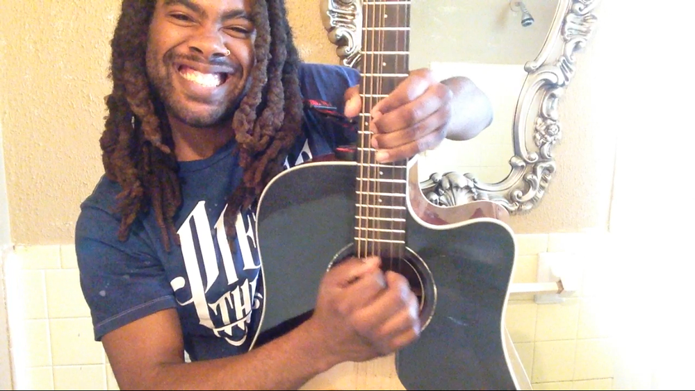 Local musician Demetrius Webb is currently working on his debut solo EP.