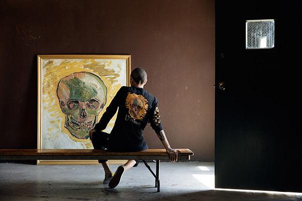 Vans x Vincent Van Gogh Skull Hoodie, $99.50, Vans