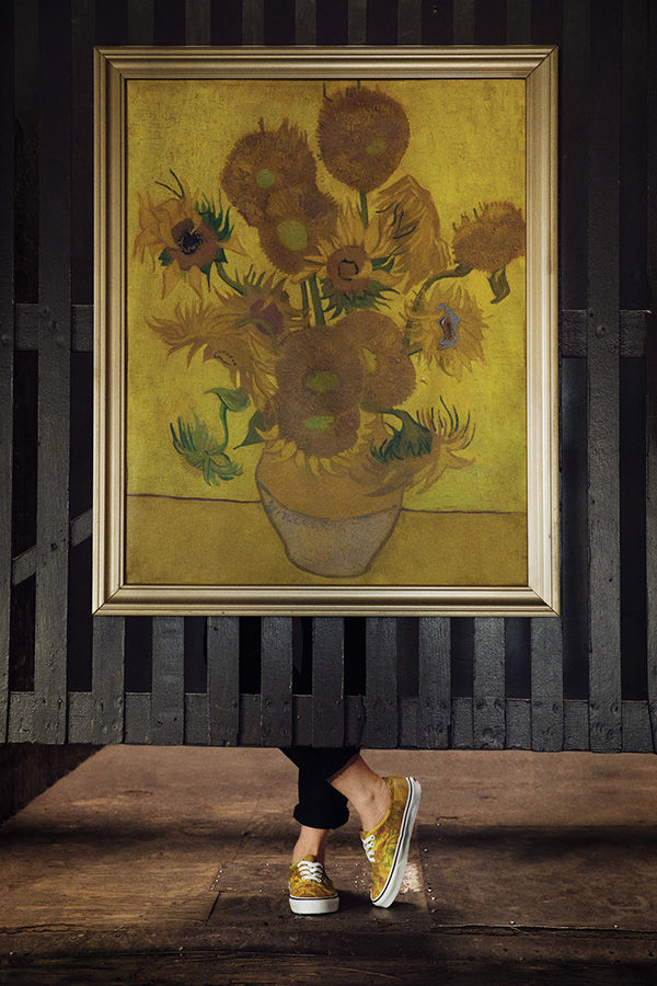 Vans x Vincent Van Gogh Authentic, $65, Vans