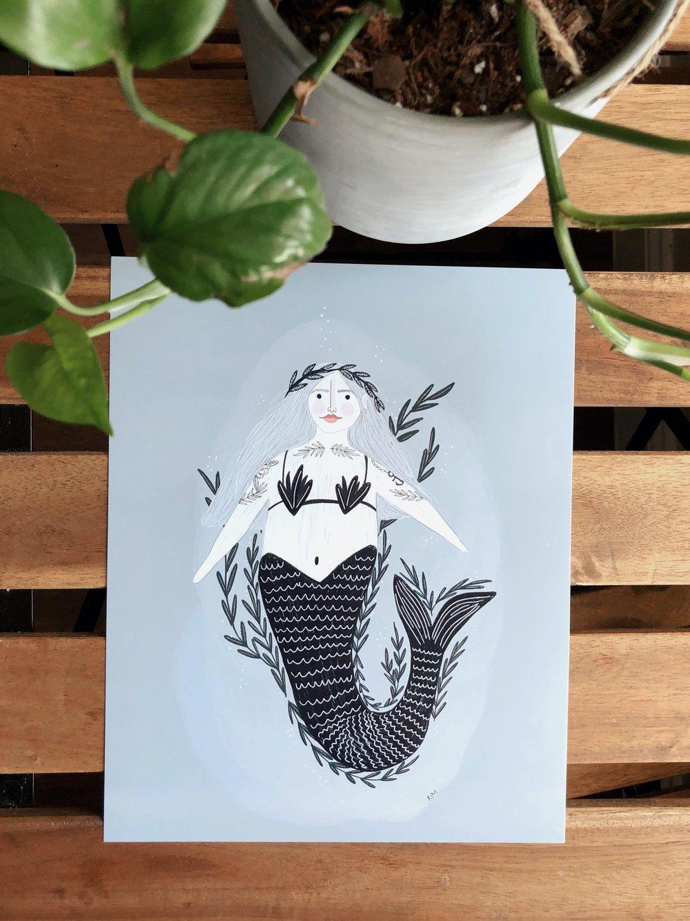 Mermaid & Seaweed
