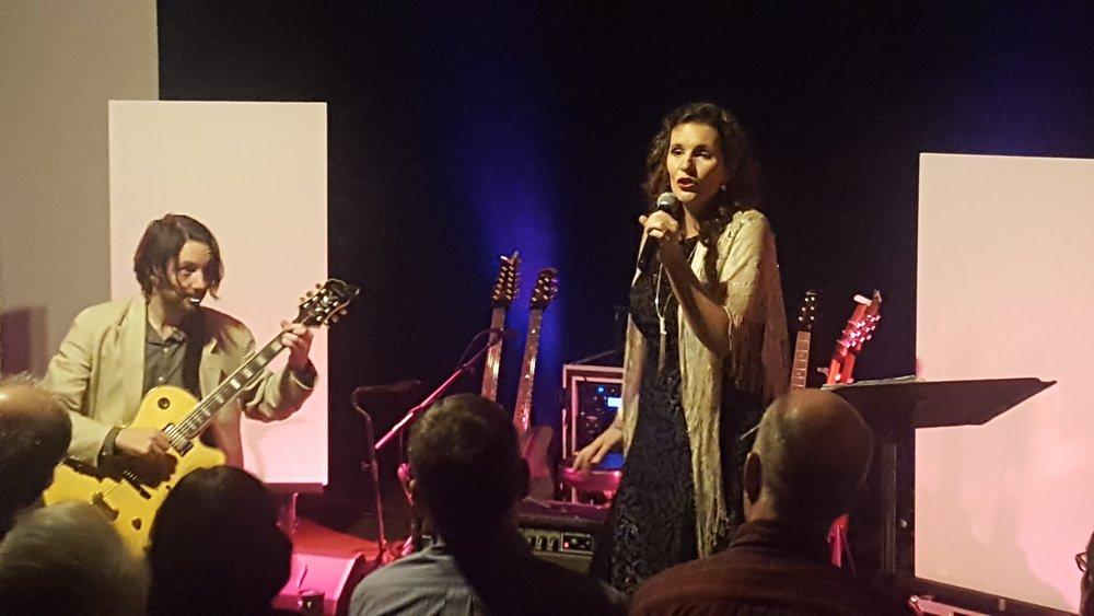 Bluesette opening the night.  Photo by Lauren Leady