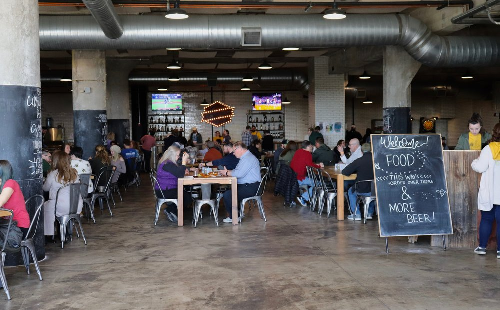 A full house at Old Bakery Beer Co. Photo by Rosita