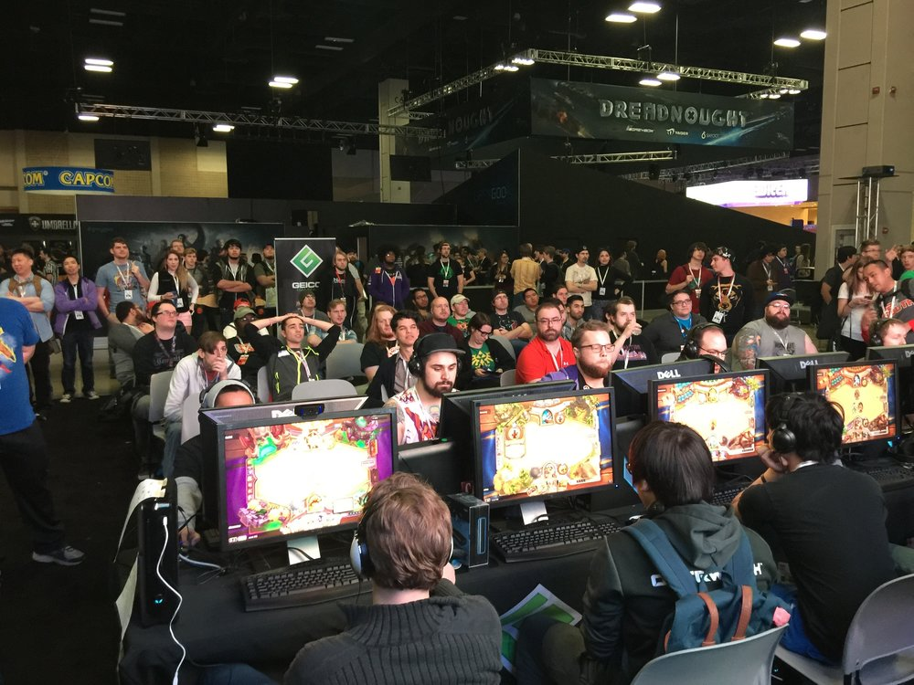 Hearthstone at Pax South