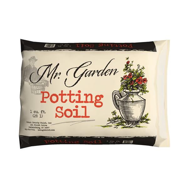 POTTING SOIL - $5.00 per bag