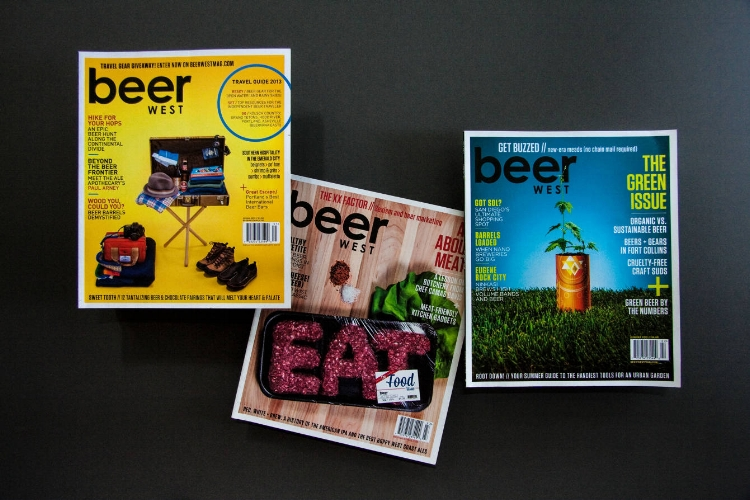 Various articles - BeerWest magazine