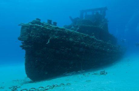 Wreck at Butler Bay, St. Croix, US Virgin Islands
