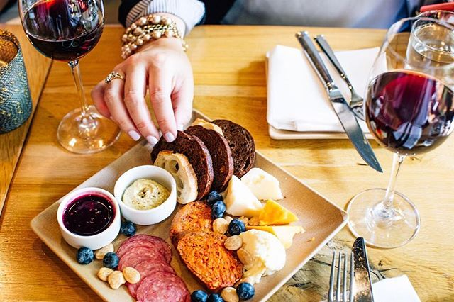 This counts as self-care, right? Start your week with charcuterie and a glass of your favorite flavor at ENO.
