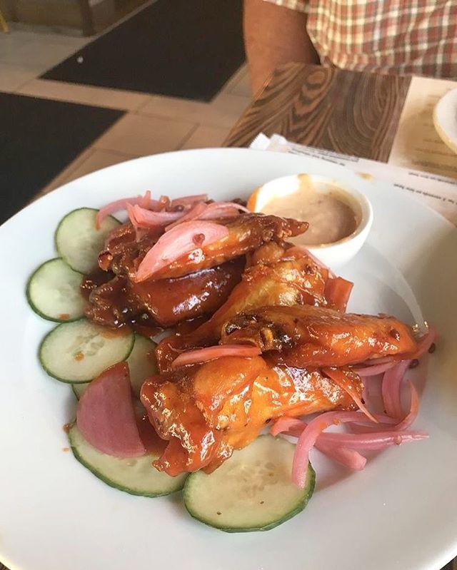 Cajun Wildflower Honey & Jalapeño Wings! Image from Karen D. on Yelp. #gatorscreolefriends