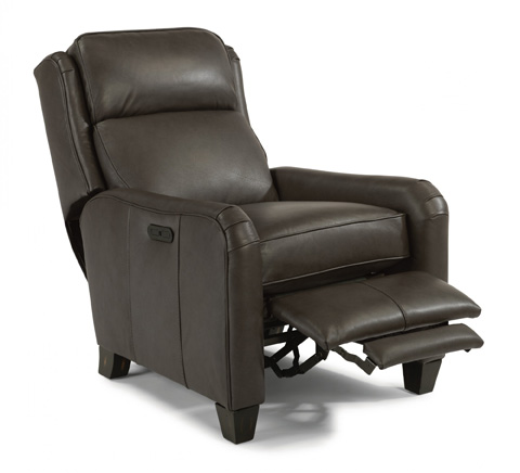 Poet Leather Recliner by Flexsteel