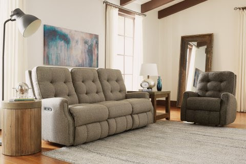 Devon recliner sofa by Flexsteel
