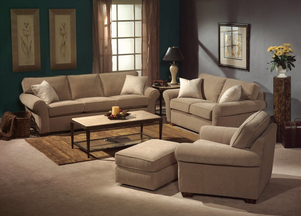 Vail stationary sofa by Flexsteel