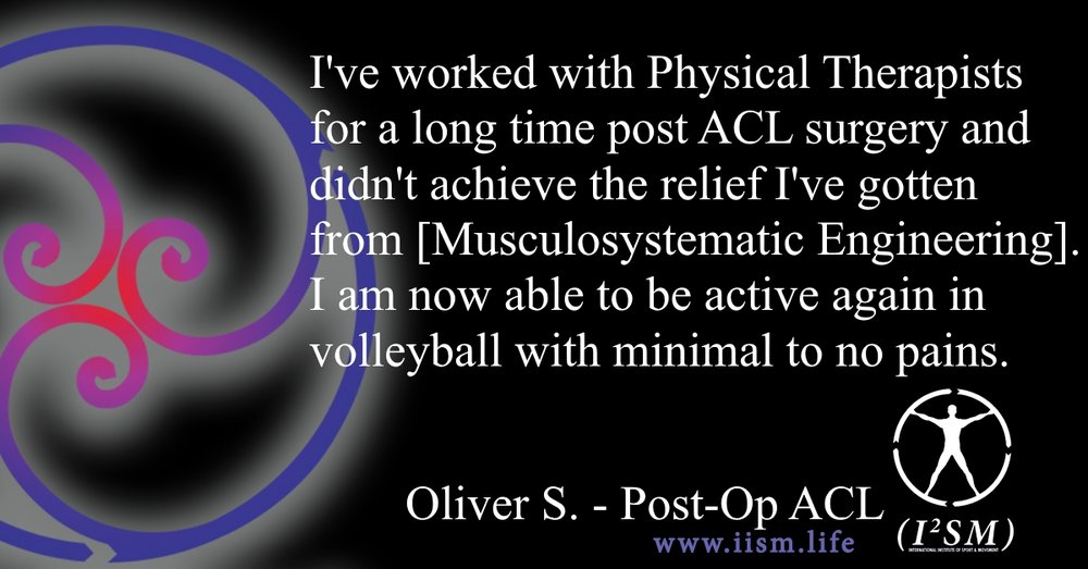 ACL Surgery Rehabilitation