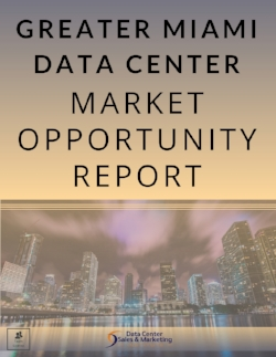 Greater Miami Data Center Market Opportunity Report - Book Cover - Team License