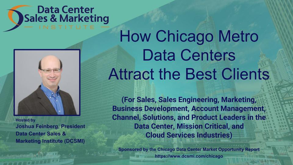 "Register for the Webinar: ""How Chicago Metro Data Centers Attract the Best Clients"""