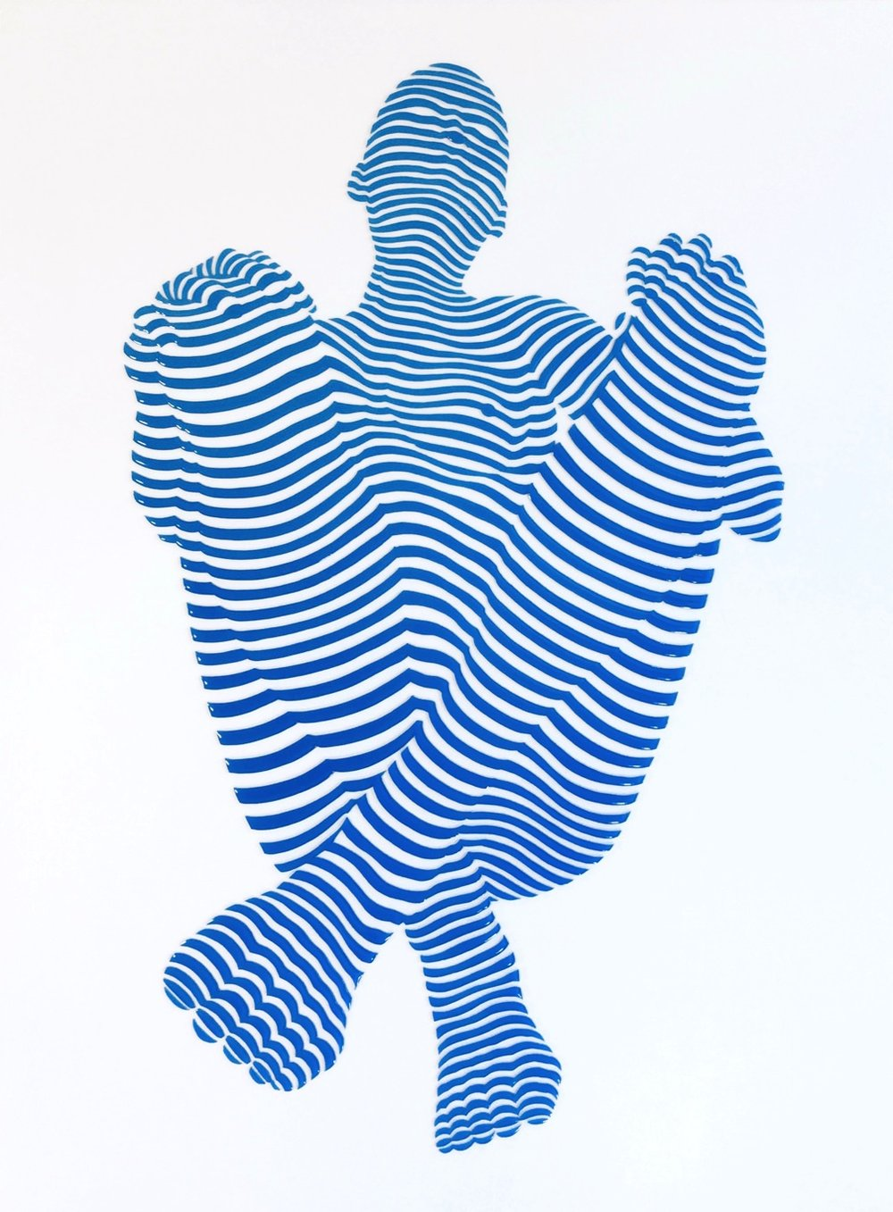 "StripePose#17 .24""x 18""x1.5"""