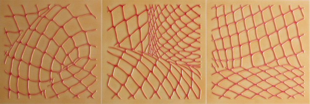 """Clear Cuts. 18""""x54""""x1"""".2007"""