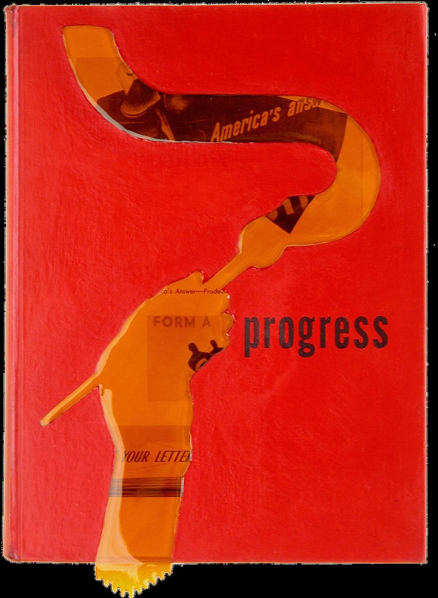 """Progress. 11""""x8""""x1"""". 2005"""
