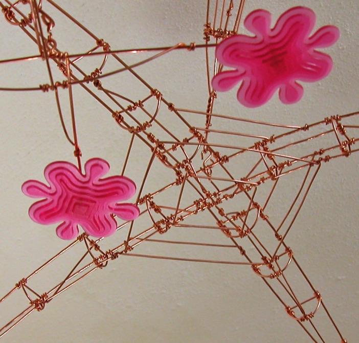 Flower Mobile, detail. 2009