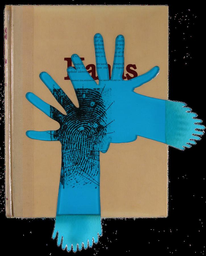 """Hands. 12""""x10""""x1"""". 2006"""