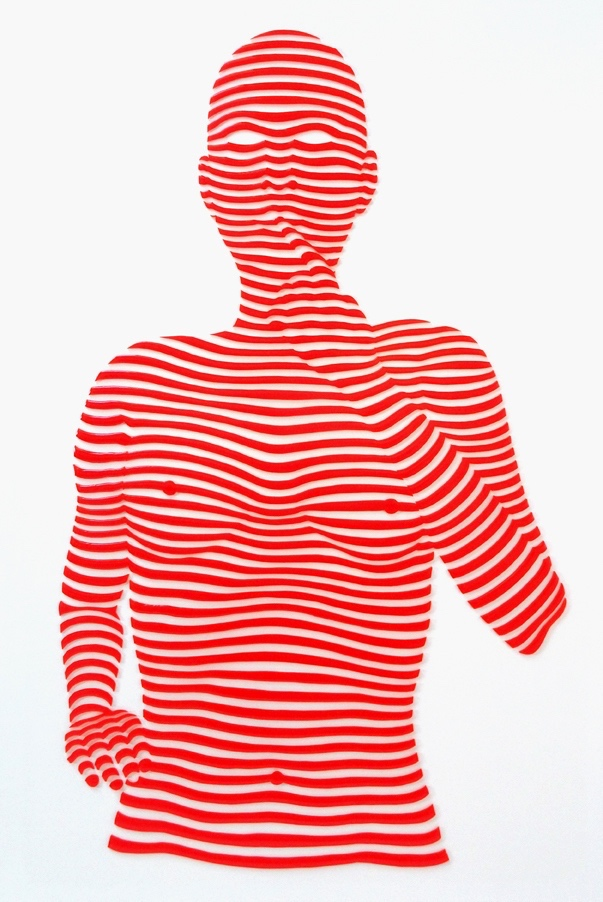 "StripePose#31. 24""x18""x1.5"""