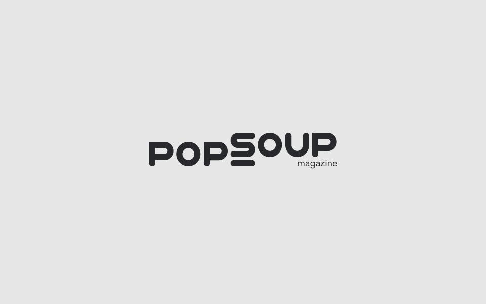 4. PopSoup Mag  Rebrand .
