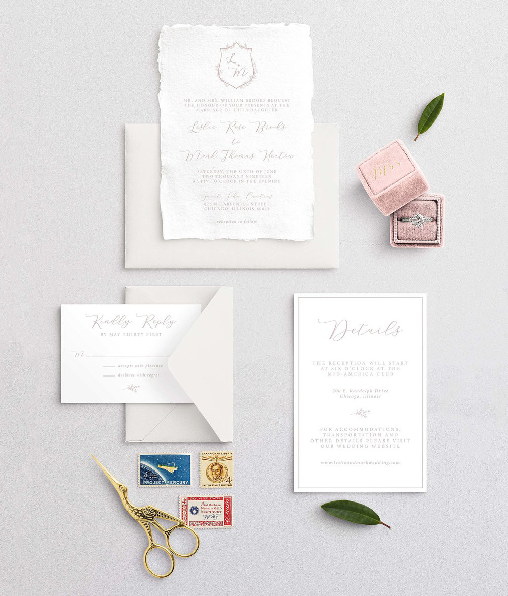 Semi-Custom Invitations -