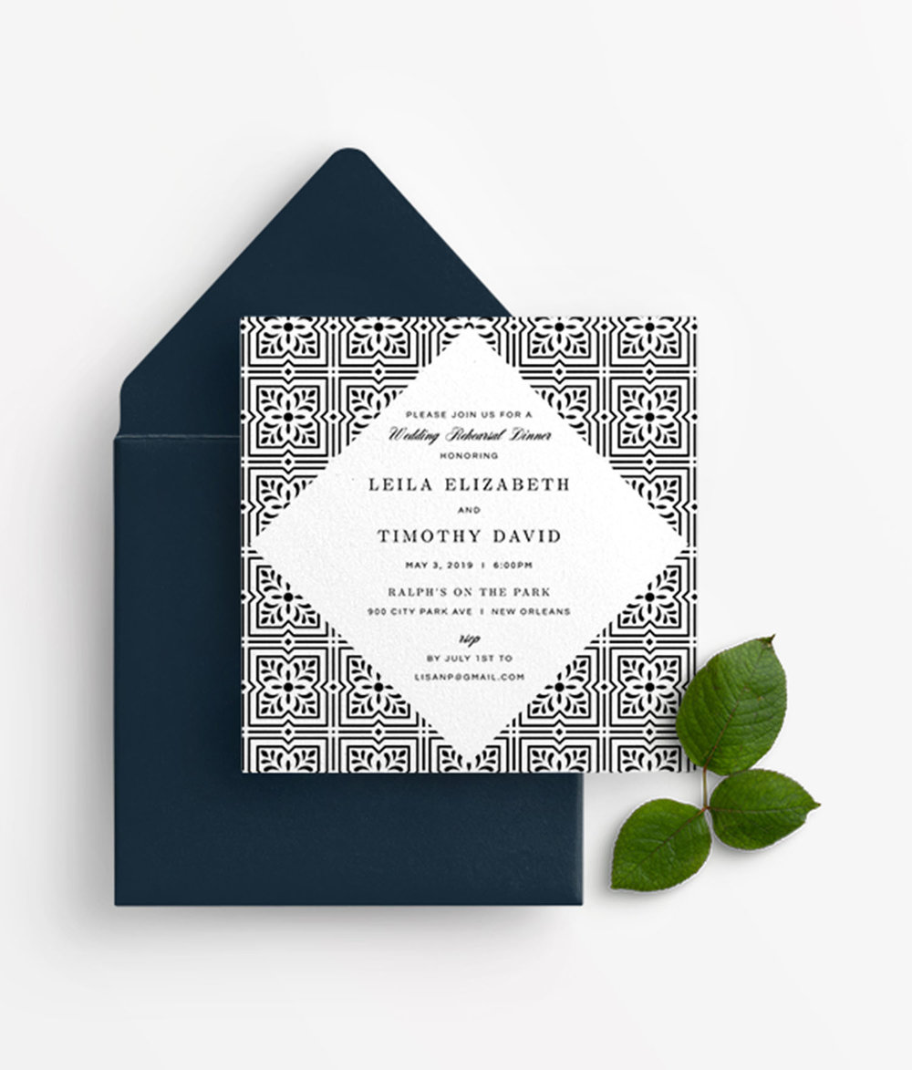 Rehearsal Dinner Invitations -