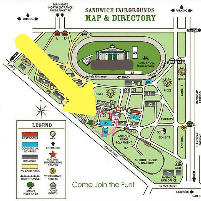 Sandwich Fair Map.png