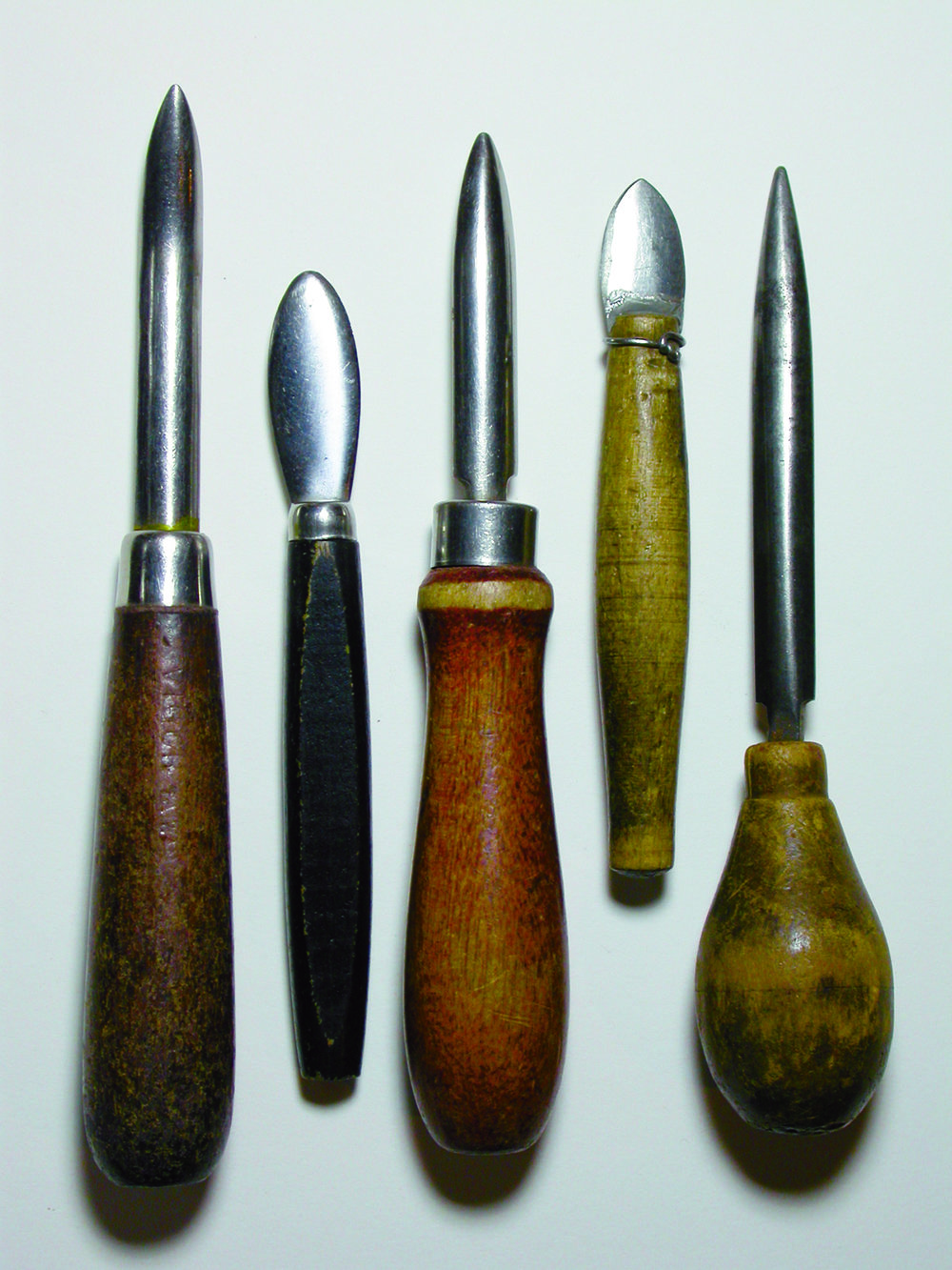 Tools of the Trade - Decades of handling, shuffling around on the tool bench, repairing thousands of pieces of jewelry...