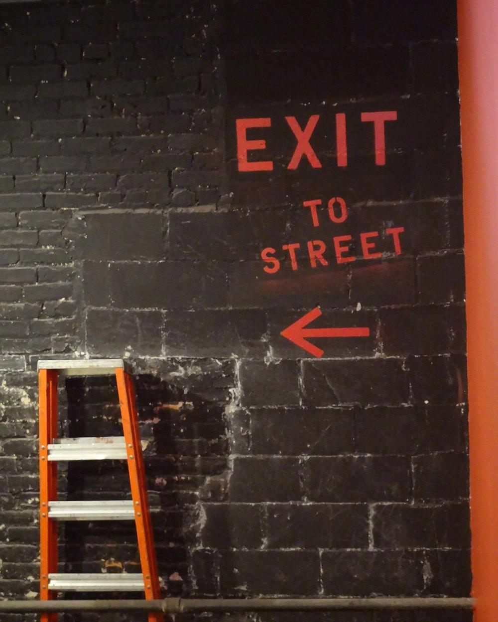 EXIT TO STREET - 16